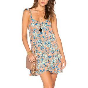 Free People printed Summer Dress sz L